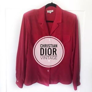 ✨Christian Dior blouse! ✨